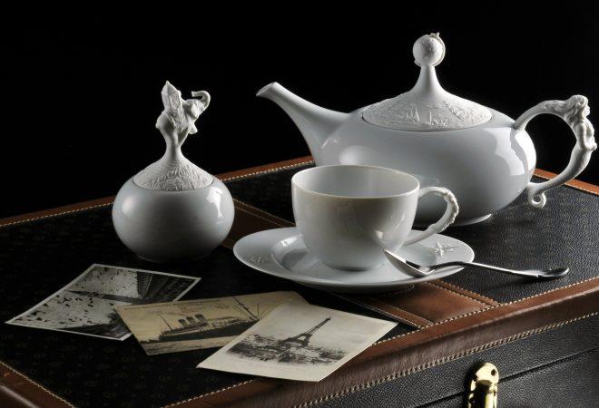 Kaffeeservice- coffeeset FORM 21 Weltreise