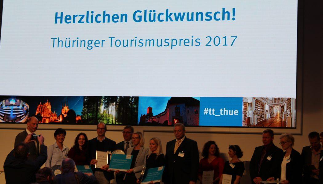 Gewinner des Thüringer Tourismuspreises 2017