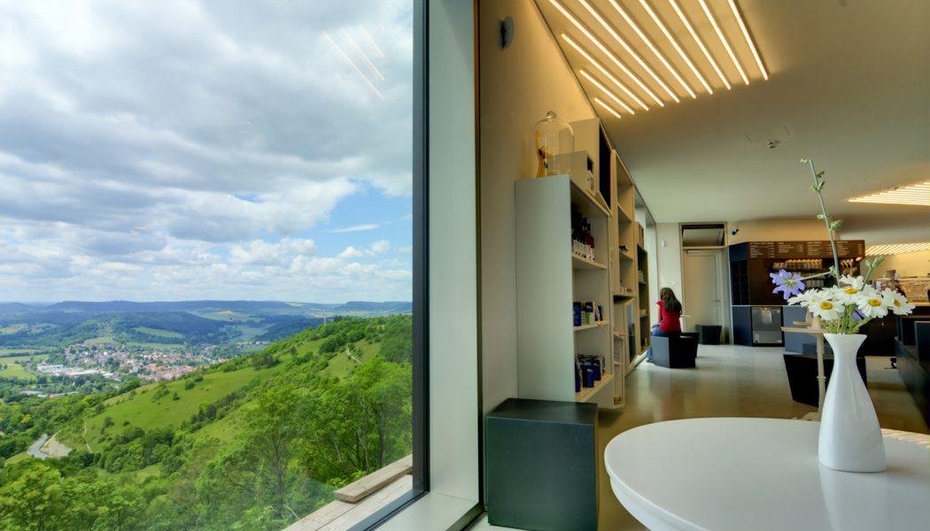 9 Panoramafenster im Besucherzentrum