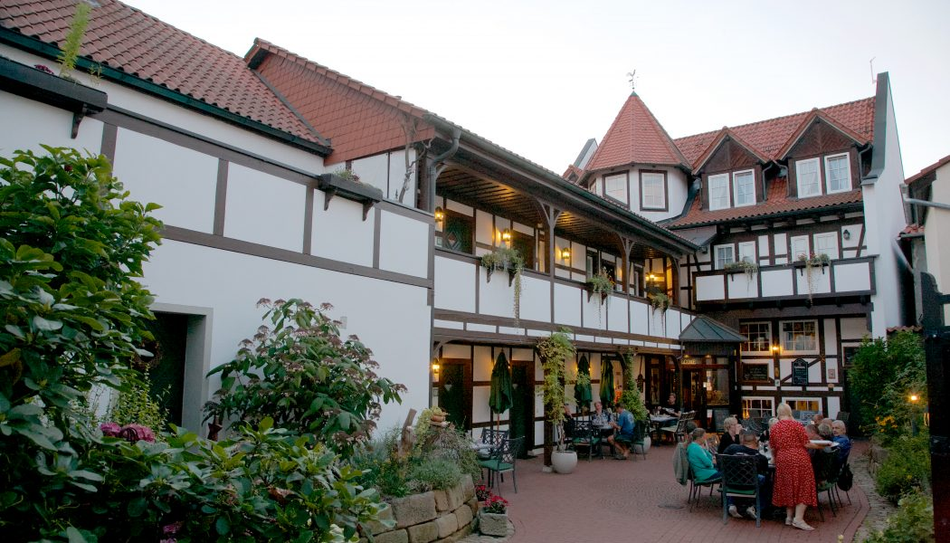 Landhotel Kains Hof, Innenhof