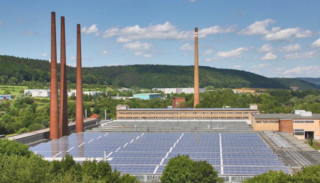 KAHLA Porzellan GmbH Photovoltaik_ANSICHT