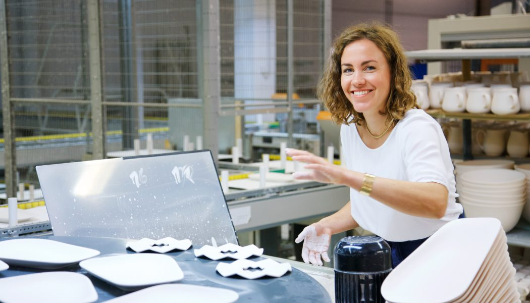 Lisa Keller, Designerin bei KAHLA Porzellan