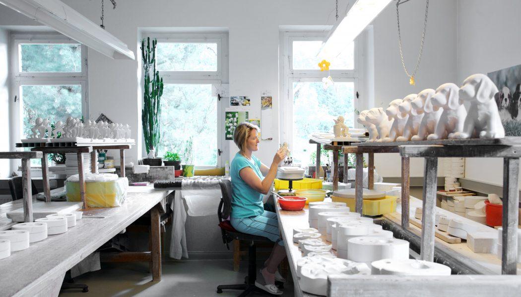 In der Werkstatt bei Wagner & Apel Porzellan