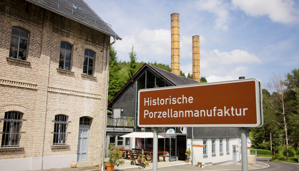 Außenansicht Wagner & Apel Porzellanfiguren Lippelsdorf