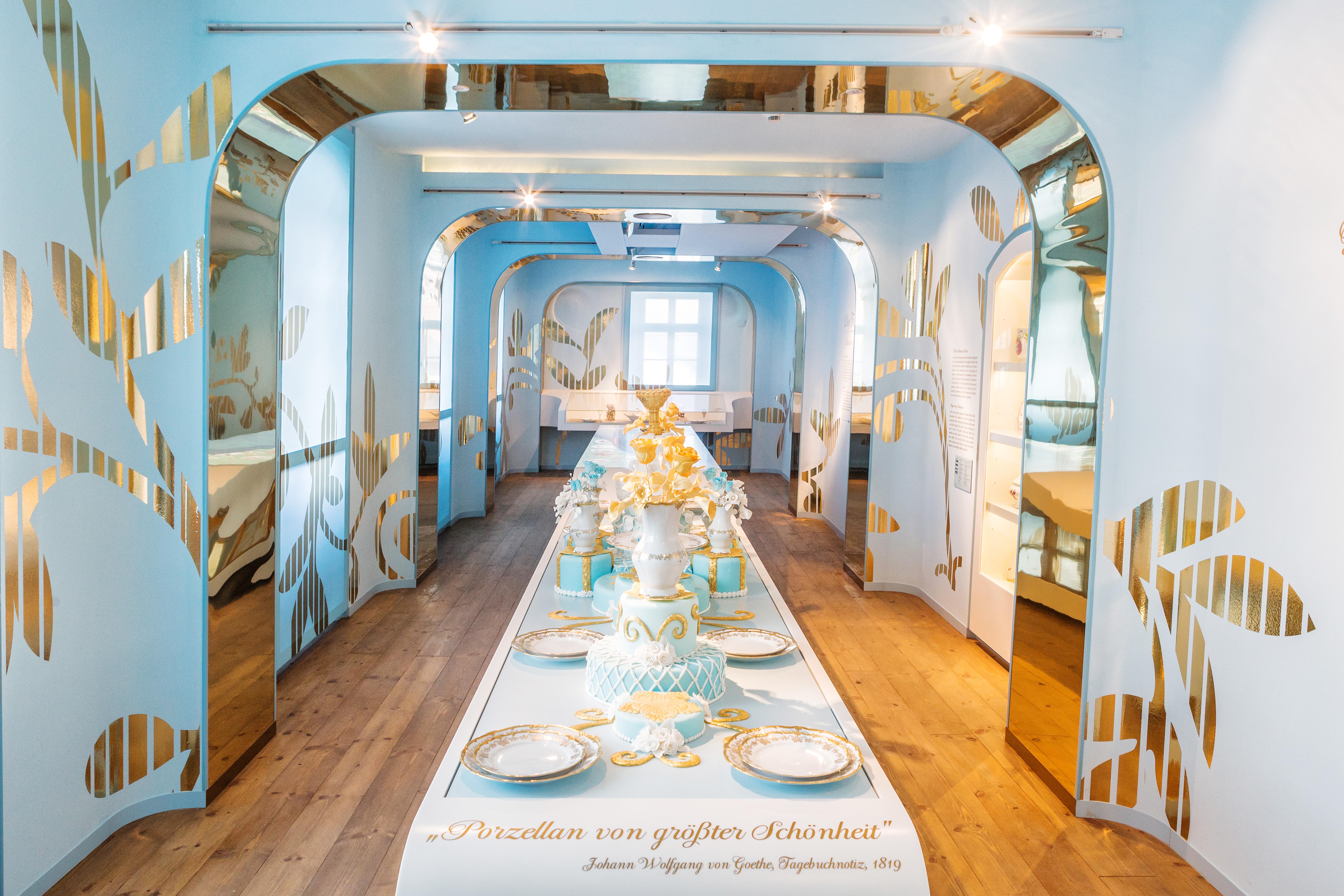 """Ausstellungswelt """"Das Kostbare"""" in den Porzellanwelten Leuchtenburg"""