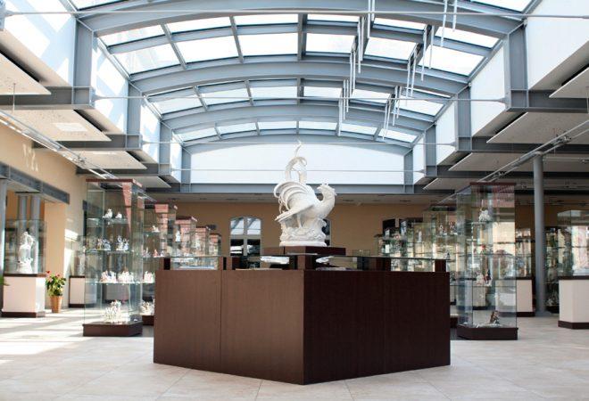 Schauhalle, Aelteste Porzellanmanufaktur Volkstedt