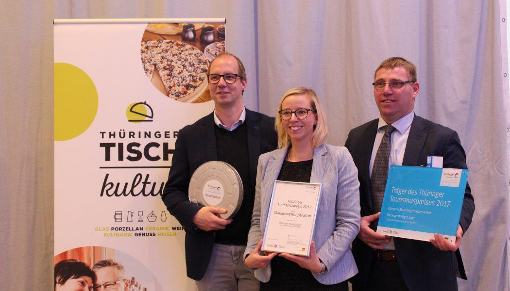 Gewinner in der Kategorie  Marketing und Kooperationen ist das Erlebnisweingut Zahn in Großheringen