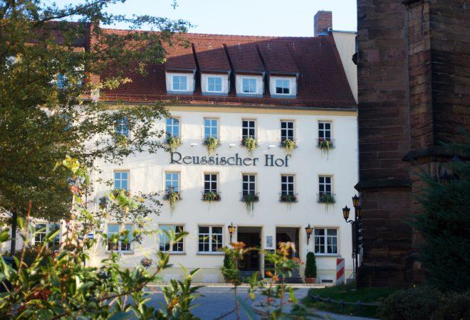 Außenansicht Reußischer Hof in Schmölln