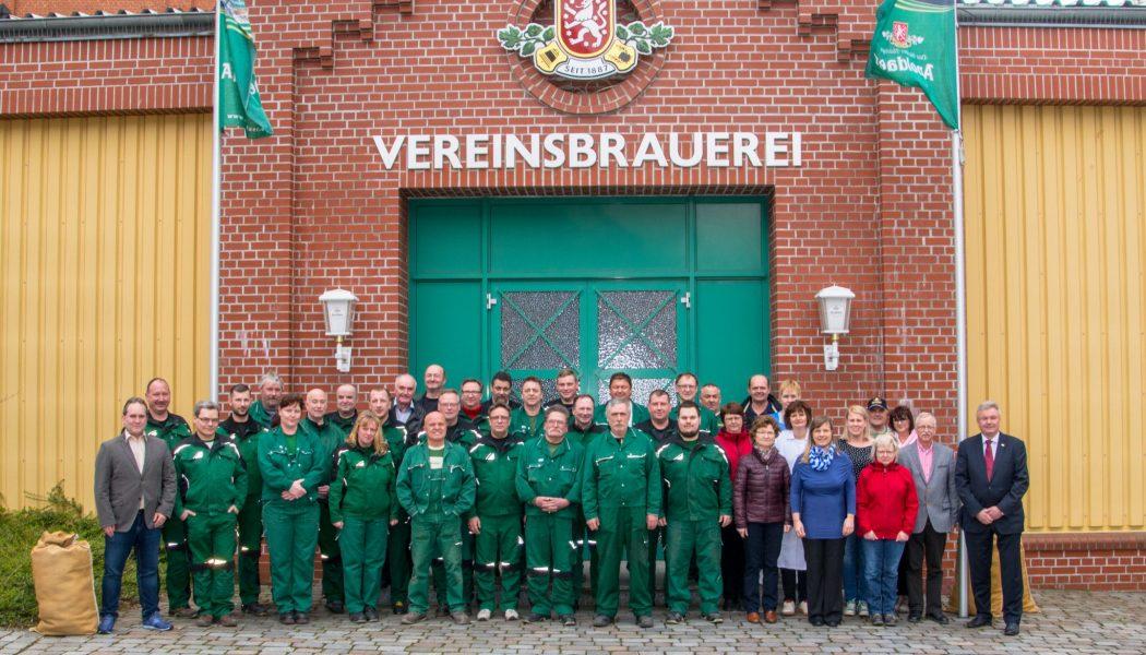 Team der Vereinsbrauerei Apolda