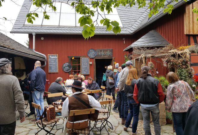 Hofcafe zum Frühlingsmarkt_Kulturhof Zickra
